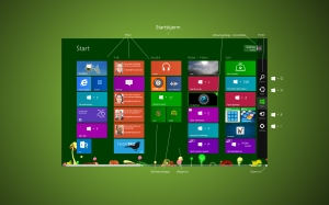 Windows 8 shortcuts 1920x1080 (full HD)