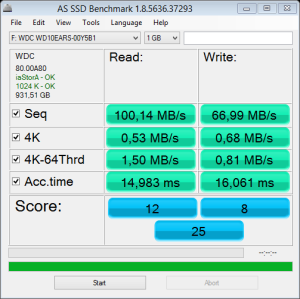 wd 5400 1TB 64mb cache