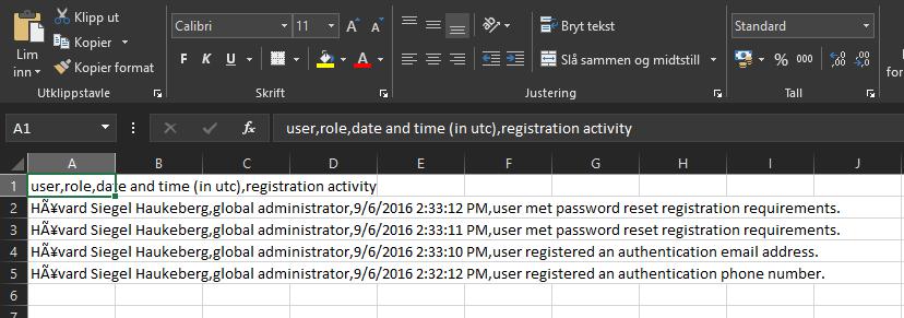 excel-self-service-password-reset-activity