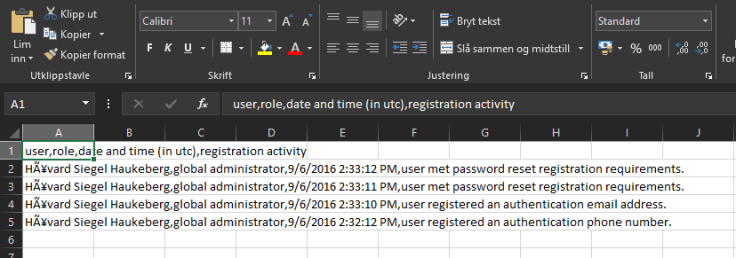 excel-self-service-password-reset-activity