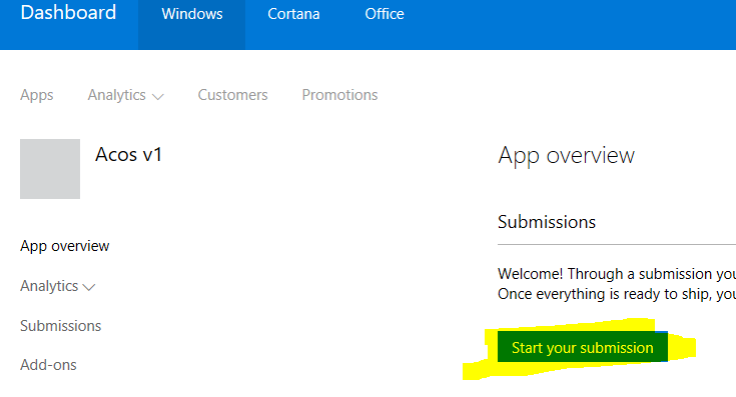 start-submission-to-windows-store-for-business