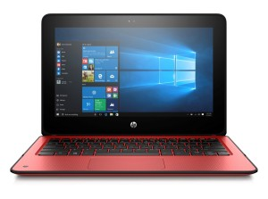 HP x360 radiant red