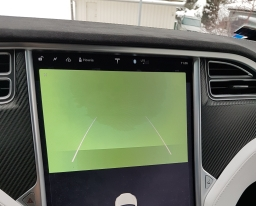 Tesla rear view camera greened out