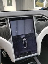 Tesla rear view camera broken