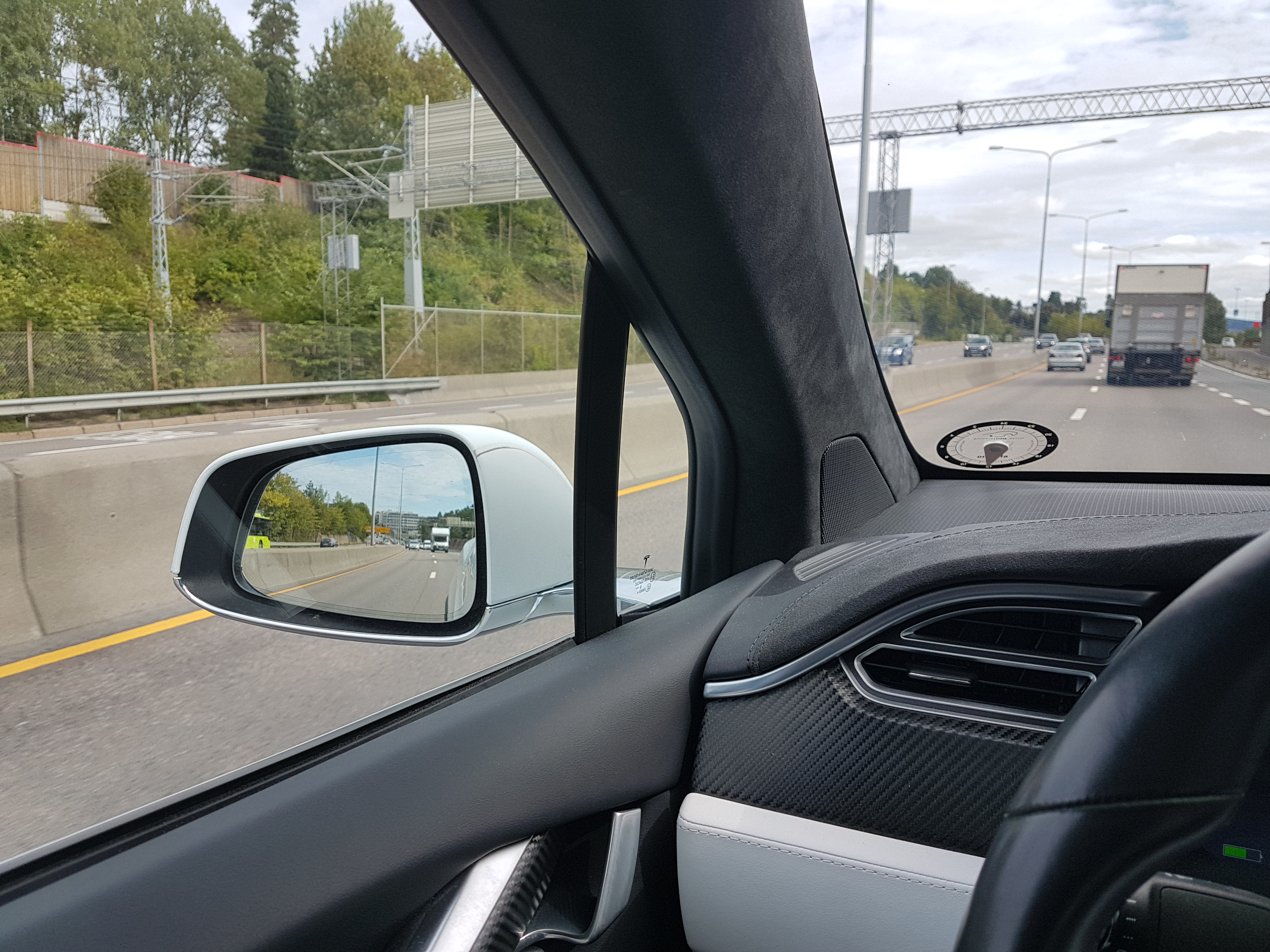 Tesla Model X Left mirror